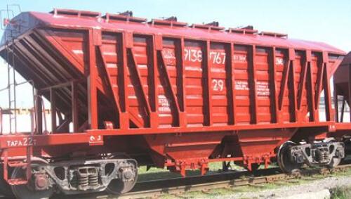 Модернизированный вагон-хоппер для перевозки цемента на базе вагона окатышевоза