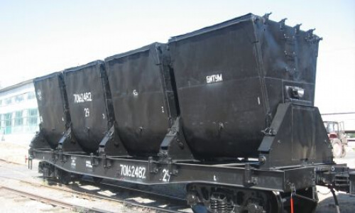 Модернизация платформы оборудованной бункерами для перевозки битума на базе платформы 13-401 ПЛБ 01.00.00.000