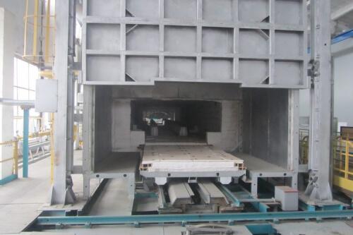 Линия нормализационно-отпускная для термической обработки стальных железнодорожных отливок (КЕРАММАШ)