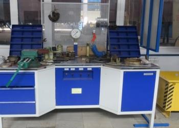 Стенд ремонта и испытания концевых и  разобщительных кранов СИР-КРК