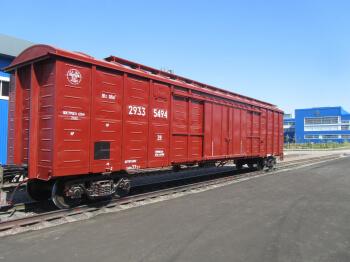 Крытый вагон - модель 11-9923